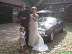Hochzeitsfahrt Rolls Royce, Brautwagen leihen, Hochzeitsfoto Oldtimer
