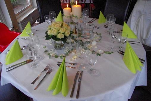 Brauttisch, Catering Hochzeit, Partyservice Bersenbrück